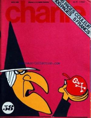 CHARLIE [No 58] du 01/11/1973 - PICHARD ET WOLINSKI - SMYTHE - BRANT PARKER ET J. HART - SCHULTZ - HERRIMAN - CABU - S. JORDAN - C. FLICKER - BIL TIDY - CRUMB - PEREZ - HUGOT - GLENAT GUTTIN.