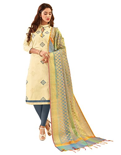 Blissta party wear salwar kameez with Heavy Banarasi Dupatta