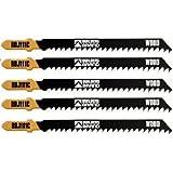 Builders Brand BBJ111C Lame de scie sauteuse pour bois et plastique