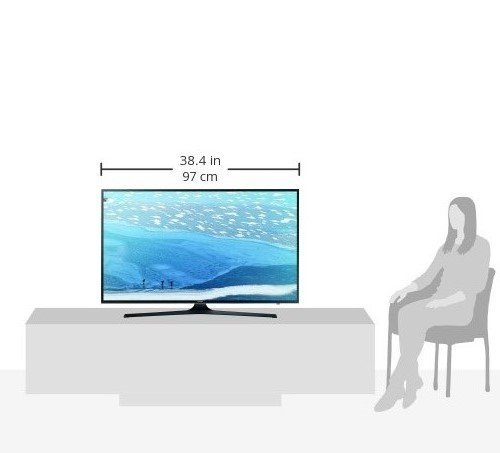 Samsung UE43KU6079 108 cm (43 Zoll) 4k Fernseher - 9