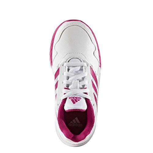 adidas Altarun K, Chaussure de Sport Unisexe - enfant Bianco ( Ftwbla/Rosfue/  ...