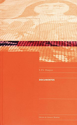 E.P.S. Huayco. Documentos (Travaux de l'IFÉA) por Gustavo Buntinx