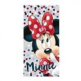 Craft Cerdá 2200002157Serviette de plage en coton, motif Minnie Mouse