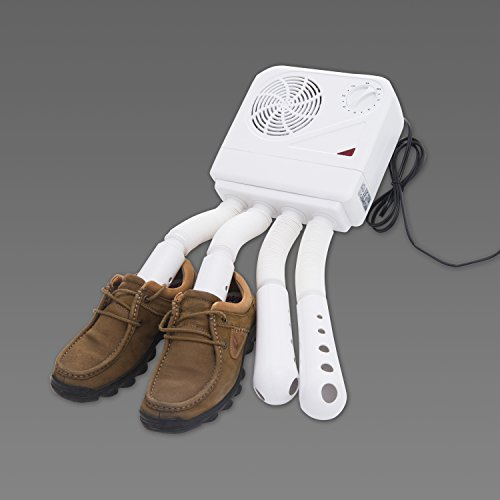 homcom-shoe-boot-dryer-electric-hot-air-warmer-heater-disinfectant-wall-mounted-portable-white