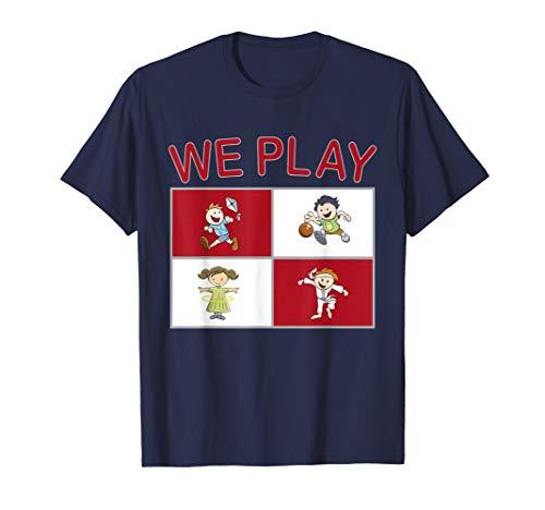 Großes ESL Lehrer-Hemd, das wir spielen