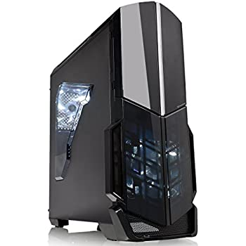 Thermaltake Versa N21 Translucent Panel ATX Mid Tower Window Gaming Computer Case Cases