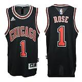 Chicago Bulls Derrick Rose # 1NBA Youth Big Jungen Alternate Swingman Jersey–schwarz, Jungen Mädchen damen, schwarz