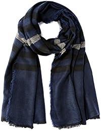 Celio JIENUIT, Echarpe Homme, Bleu (Navy), Unique (Taille Fabricant  2f600bae7e5