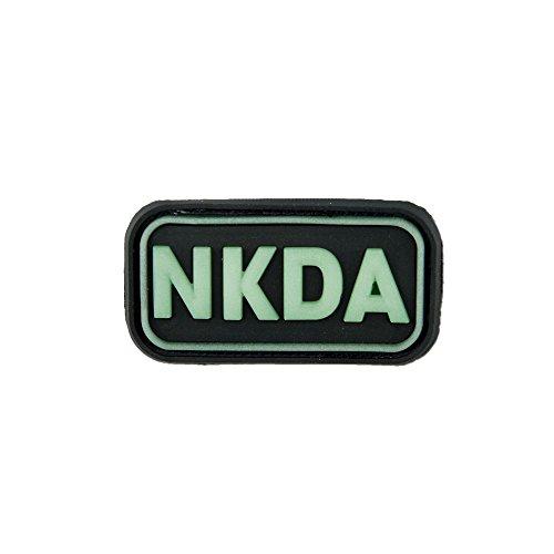 3D-Patch NKDA - No Known Drug Allergies glow in the dark