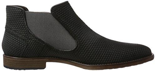 bugatti Herren 312297201400 Chelsea Boots Schwarz (Schwarz)