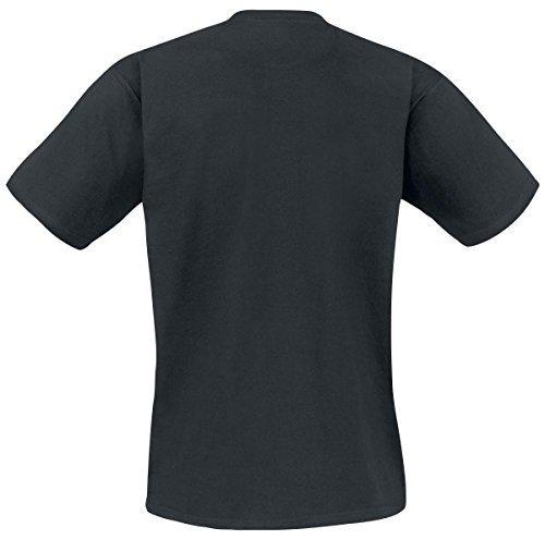 Led Zeppelin Shook Me T-Shirt Schwarz M (Led Zeppelin T-shirt)