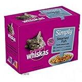 Whiskas einfach Gedämpfter Fisch 4x12x85g