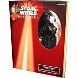 Star Wars Episode 1 The Phantom Menace Adult Collectors 1999 Portrait Edition 12 Inch Tall Doll - Queen Amidala in Black Travel Gown by Hasbro
