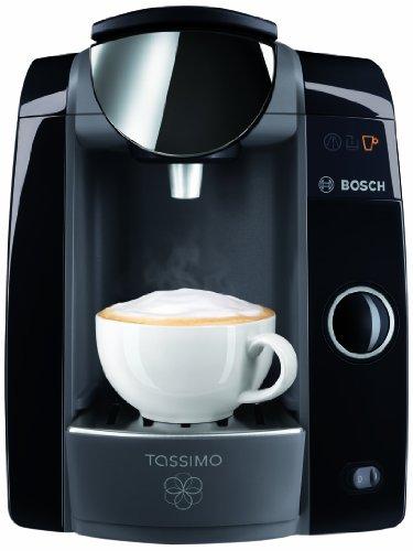 (Kaffeemaschine TASSIMO T47unabhängigen schwarz Knöpfe Kapseln 1,4l Vollautomatische)
