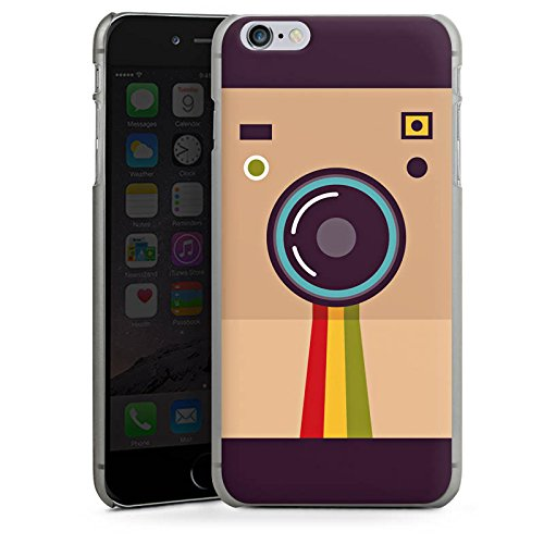 Apple iPhone X Silikon Hülle Case Schutzhülle Kamera Foto Fotograf Hard Case anthrazit-klar