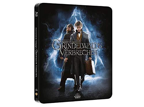 Phantastische Tierwesen Grindelwalds Verbrechen - Exklusiv Steelbook + Extended Cut (Limited Edition) Blu-ray