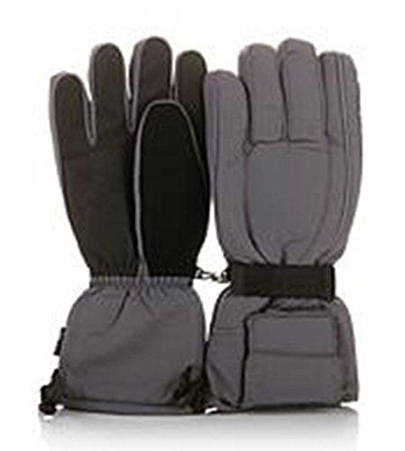 Hot Headz Battery-Operated Heated Gloves - Gray