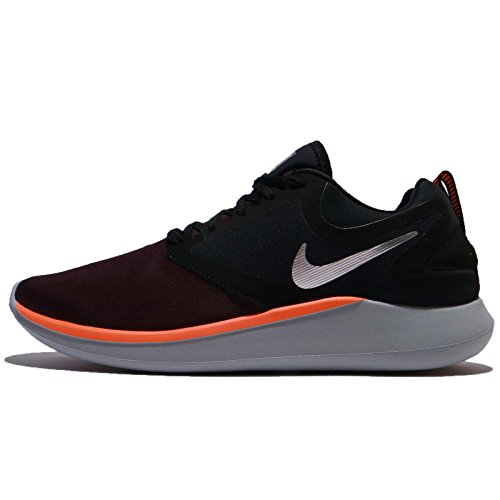 NIKELunarsolo - Lunarsolo Herren, Herren, Black/Chrome-Port Wine, 9.5 D(M) US -