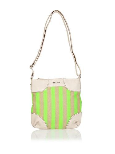 Tamaris Coco Crossover Bag A-1-100-02-303, Damen Umhängetaschen 24x26x5 cm (B x H x T) sand-neon