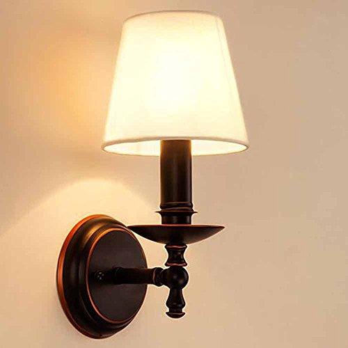 mode LED American Iron moderne Applique Chambres Salon Couloir Couloir Escalier Applique Élégant