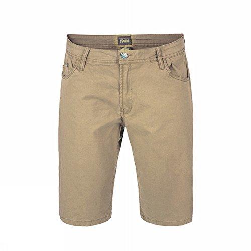 Isolid -  Pantaloncini  - Uomo Beige beige