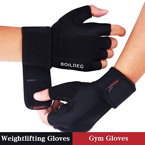 FItness Handschuhe Trainingshandschuhe,für Bodybuilding Crossfit,Damen&Herren ()