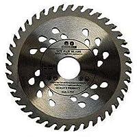 Lame de scie circulaire pour meuleuse d'angle de qualité supérieure - 125x22x60 dents - Pour la coupe de bois
