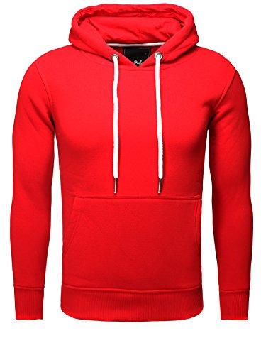 SAN PEDRO -  Felpa con cappuccio  - Uomo Rosso