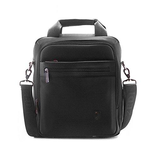 BULAGE Taschen Männer Schulter Hand Luft Reisen Mode Business Freizeit Dokumente Oxford Einfach Black