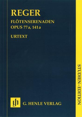 Serenaden für Flöte (Violine), Violine und Viola op. 77a and op. 141a