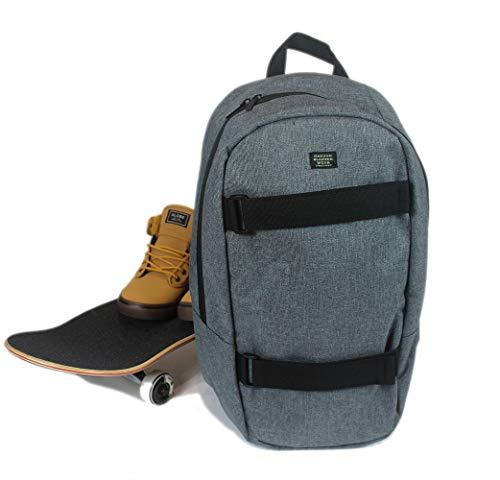 GHETTO BLASTER Round Boardpack rucksack backpack unisex daypack (GRY)