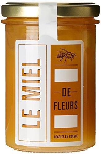 Jimini's Le Miel de Fleurs 100% Français 250 g - Lot de 3