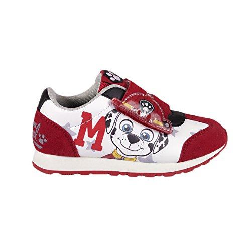 Paw Patrol , Jungen Sneaker Rosso Marshall