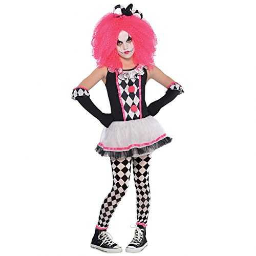 New Amscan Kids Halloween Circus Sweetie Clown Mädchen Fancy Dress Party - Clown Fancy Dress Kostüm