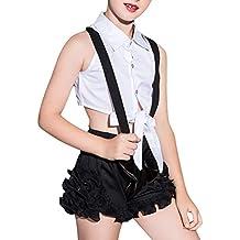 375ebf0077066 Daytwork Disfraz Danza Lentejuelas Diseño - Danza Ropa Trajes Pantalones  Conjunto de Disfraz Jazz Hip Hop