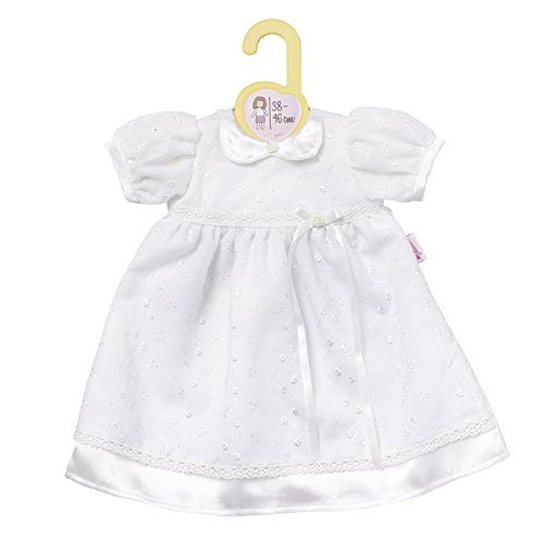 a9157f066ca Zapf Creation 870341 Dolly Moda Christening Robe for 38 - 46 cm dolls