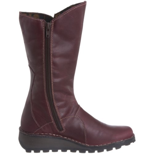 Fly London MES Damen Langschaft Stiefel Violett (Purple 072)