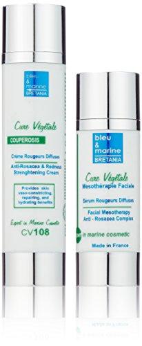 Veana Cure Vegetale Anti Rosacea Strengthening Cream plus Serum, Rosacea, 1er Pack (1 x 2 Stück)