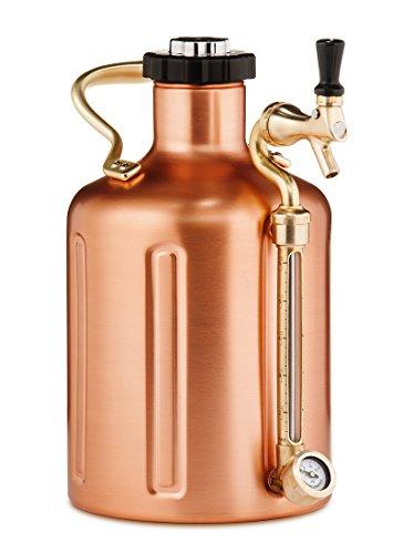 uKeg 128 Pressurized Growler - Copper