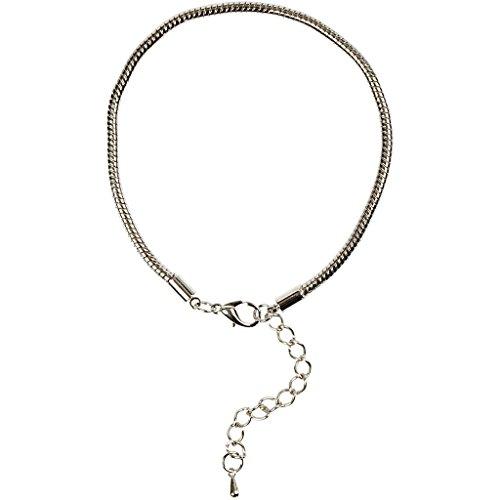 Creativ Company Bracelet, 18 cm, argenté, AP, 1 pièce