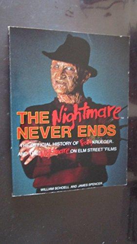 "Preisvergleich Produktbild Nightmare Never Ends: Official Story of Freddy Krueger and the ""Nightmare on Elm Street"" Films"