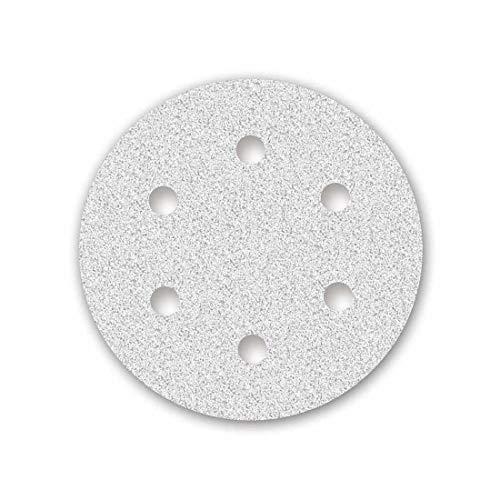 MENZER White Discos Abrasivos con Velcro