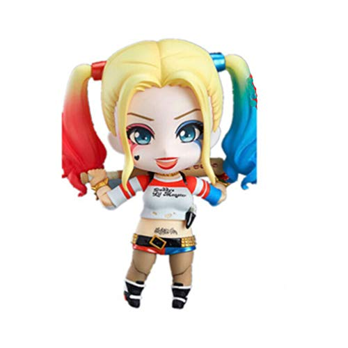 EASTVAPS Anime Harley Quinn 10 cm Acción PVC Figura Toy Doll Modelo Suicide Squad