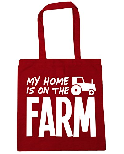 hippowarehouse-my-home-is-on-the-farm-tote-shopping-gym-beach-bag-42cm-x38cm-10-litres