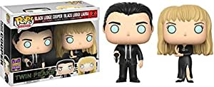 FunKo Twin Peaks Pop Vinyl Figure Cooper&Laura Palmer 2Pack Sdcc Summer Convention Exclusives, 13184