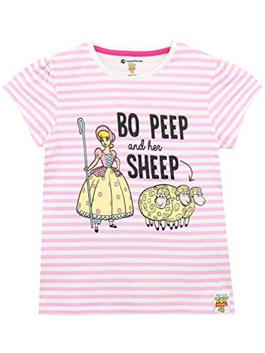 Disney Mädchen Toy Story T-Shirt BO Peep Rosa 104