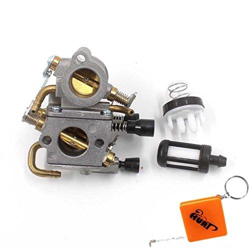 Preisvergleich Produktbild HURI Vergaser mit Primer Pumpe Benzinfilter für Stihl TS410 TS420 Trennschleifer Ersetzt 4238 120 0600 / Zama C1Q-S118