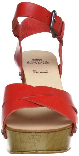 Fred De La Bretoniere 117001, Mules femme Rouge (Rosso)