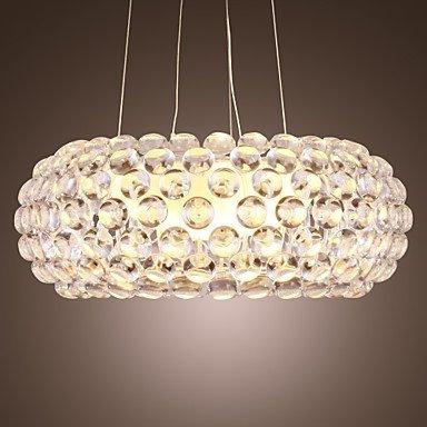 Kejing Moderne Kronleuchter Deckenleuchten Anhänger Chandelier Light Bulb 1 Contemporary Foscarini Design Lights 3C Ce FCC Rohs für Wohnzimmer Schlafzimmer, 220-240 v