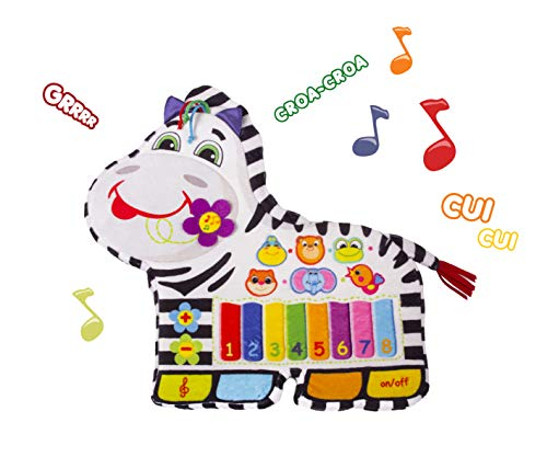 Happy Snail - Piano Zèbre musical - 45 cm